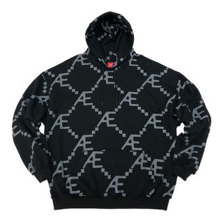 Æ MONOGRAM ALL OVER HOODIE