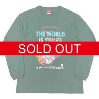 Æ THE WORLD IS YOURS L/S TEE