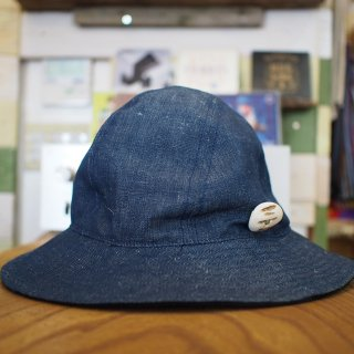 HiHiHi(ひひひ)   Reversible Hat (Denim)<img class='new_mark_img2' src='//img.shop-pro.jp/img/new/icons13.gif' style='border:none;display:inline;margin:0px;padding:0px;width:auto;' />