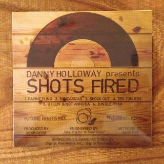 DANNY HOLLOWAY - SHOTS FIRED (MIX CD)