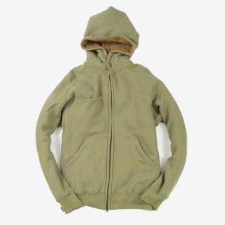 rulezpeeps(ルールズピープス) SMILE WOOL ZIP HOODIE 12G (Khaki)<img class='new_mark_img2' src='//img.shop-pro.jp/img/new/icons13.gif' style='border:none;display:inline;margin:0px;padding:0px;width:auto;' />