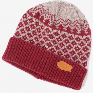 rulezpeeps(ルールズピープス) Yamanami Jacquard Beanie (Red)<img class='new_mark_img2' src='//img.shop-pro.jp/img/new/icons13.gif' style='border:none;display:inline;margin:0px;padding:0px;width:auto;' />