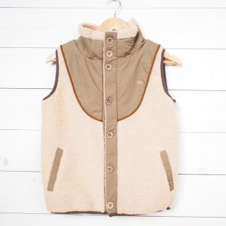 GOHEMP (ゴーヘンプ)MONGOLIAN VEST(VANILLA)<img class='new_mark_img2' src='//img.shop-pro.jp/img/new/icons13.gif' style='border:none;display:inline;margin:0px;padding:0px;width:auto;' />