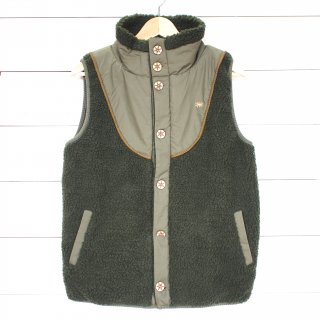 GOHEMP (ゴーヘンプ)MONGOLIAN VEST(GREEN)<img class='new_mark_img2' src='//img.shop-pro.jp/img/new/icons13.gif' style='border:none;display:inline;margin:0px;padding:0px;width:auto;' />