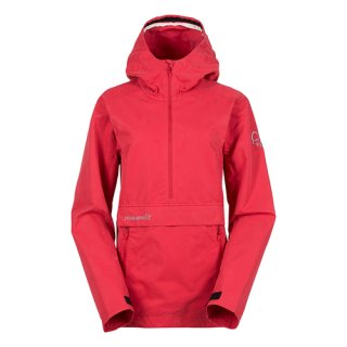 NORRONA(ノローナ)svalbard cotton Anorak Wemen's (RED)<img class='new_mark_img2' src='//img.shop-pro.jp/img/new/icons13.gif' style='border:none;display:inline;margin:0px;padding:0px;width:auto;' />