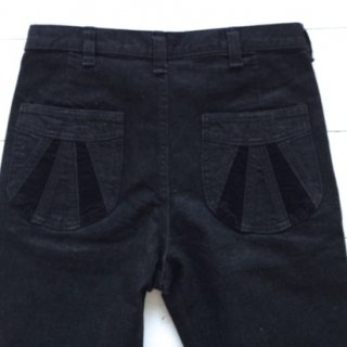 Nasngwam(ナスングワム) SUNSET PANTS (BLACK)