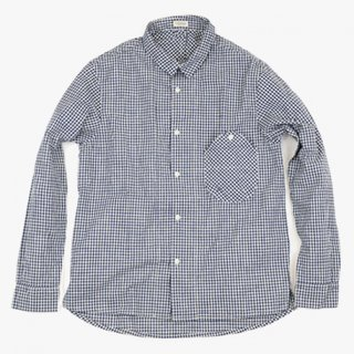 rulezpeeps(ルールズピープス) INDIGO GINGHAM GOODAY SHIRTS
