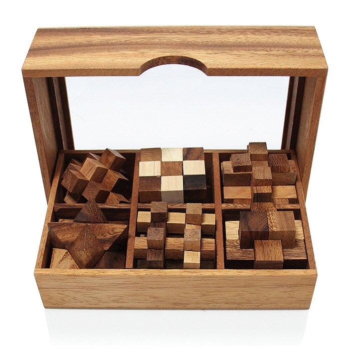 ウッドパズルセット/Wood Pazzle Set