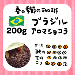 200g/季節限定 ブラジルアロマショコラ<img class='new_mark_img2' src='https://img.shop-pro.jp/img/new/icons13.gif' style='border:none;display:inline;margin:0px;padding:0px;width:auto;' />