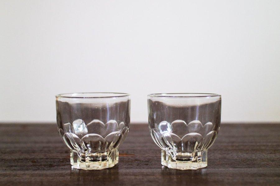 高台付きミニグラス(2個セット)
