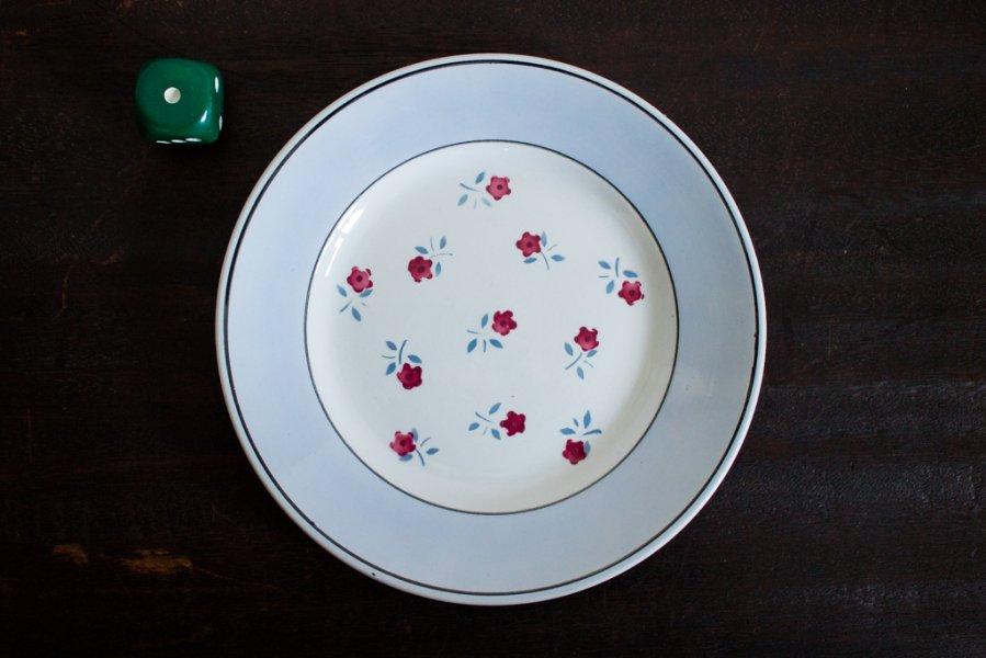 Sarreguemines窯製 AIXデザート皿(1)