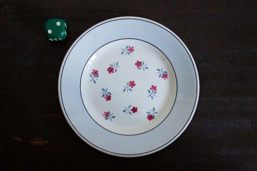 Sarreguemines窯製 AIXデザート皿(2)