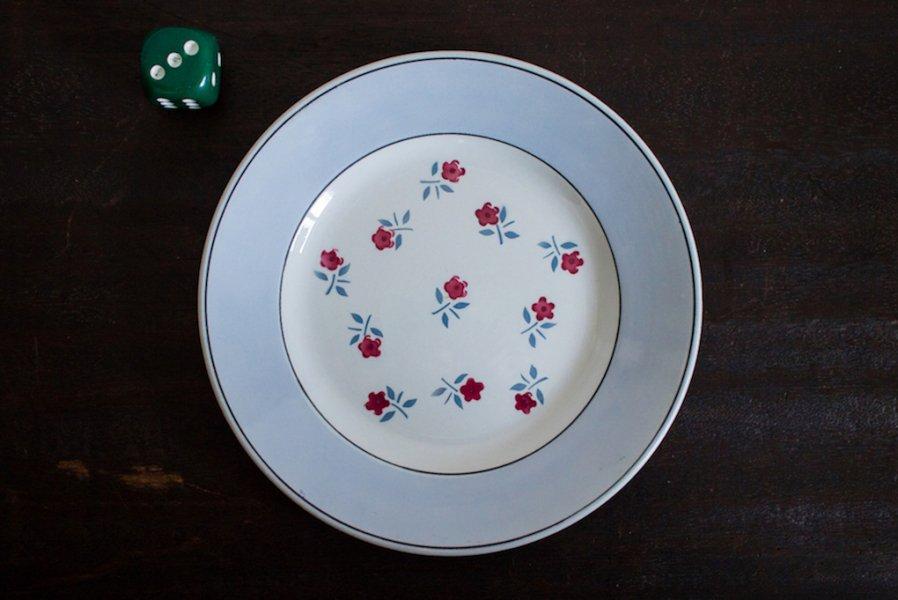 Sarreguemines窯製 AIXデザート皿(3)