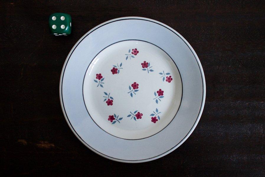 Sarreguemines窯製 AIXデザート皿(4)