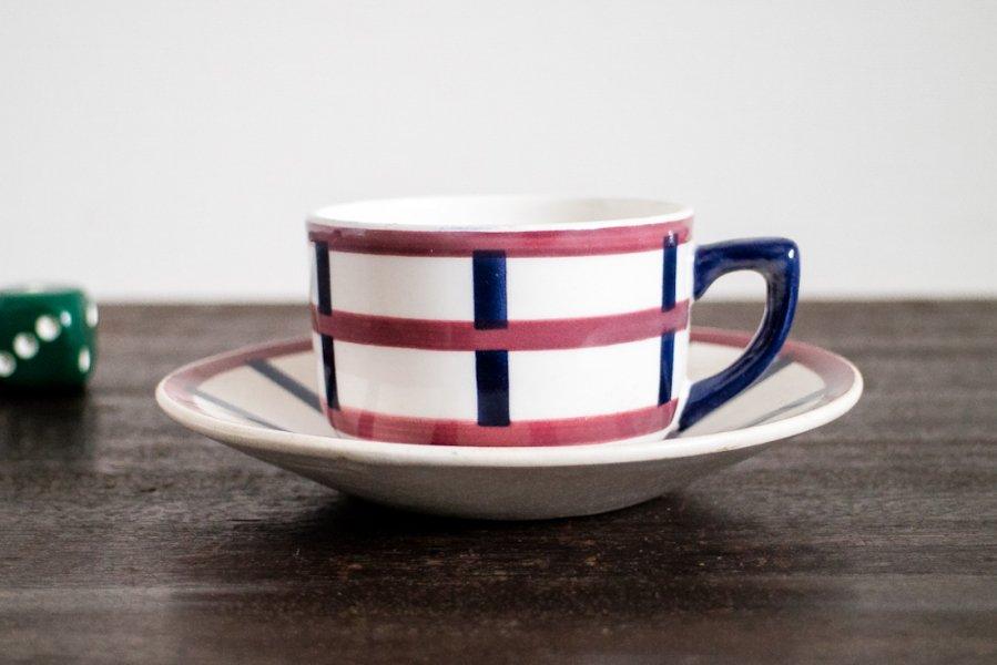 Bearn バスク模様のコーヒーカップ&ソーサー(3)