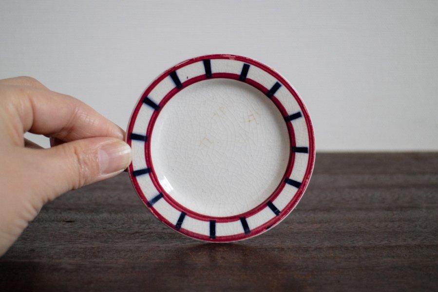 Bearn バスク模様のままごと皿(3)