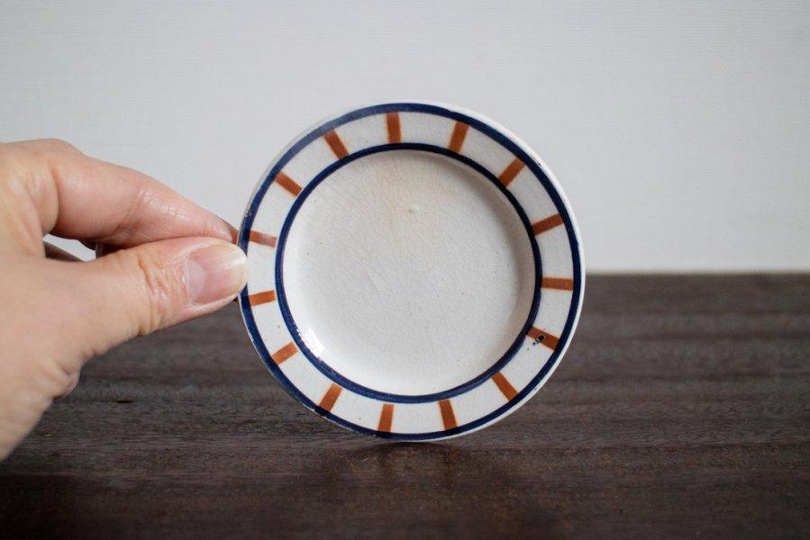 Bearn バスク模様のままごと皿(2)