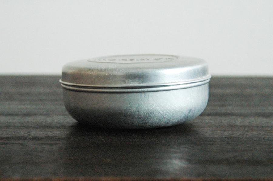 MON SAVONのアルミ丸缶