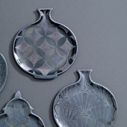 壺型小皿(鶴丸)