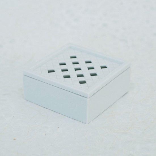 香の器 白磁いちまつ