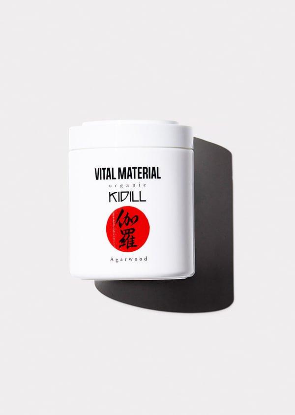 VITAL MATERIAL × KIDILL キャンドル 伽羅