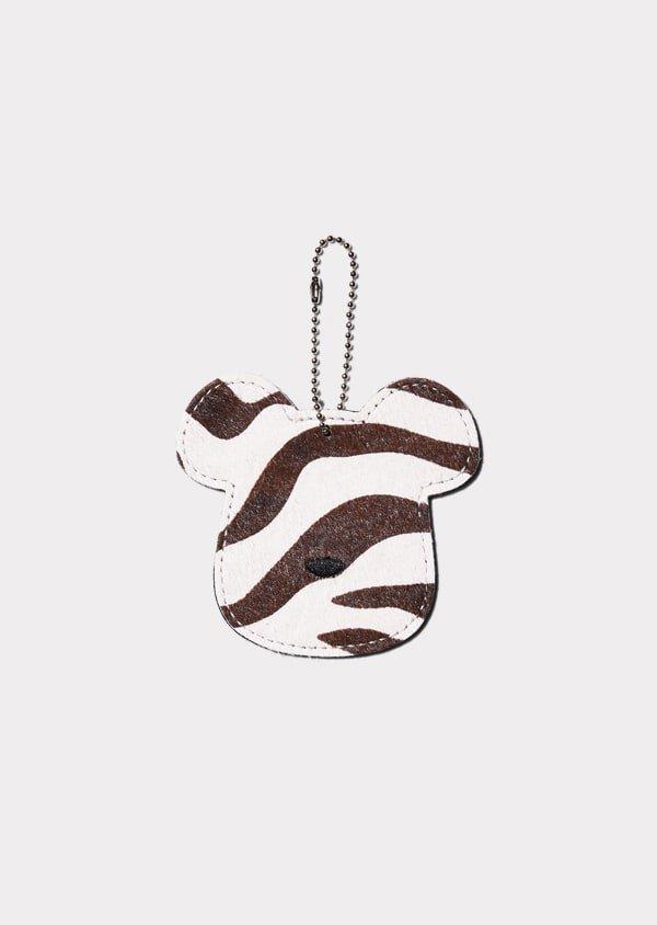 VITAL MATERIAL × BE@RBRICK フレグランスタグ zebra (wh × brown)