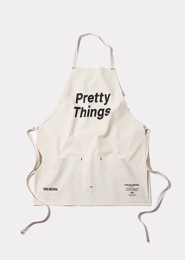 【ATELIER BÉTON × Pretty Things × VITAL MATERIAL】 エプロン