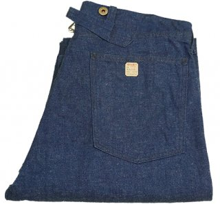 UCI-0518(1910s Double and Twist Blue Denim Pants)