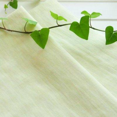 日本製オーガニックコットン100%二重ガーゼ イエロー 2m以上(50cm単位)のご注文