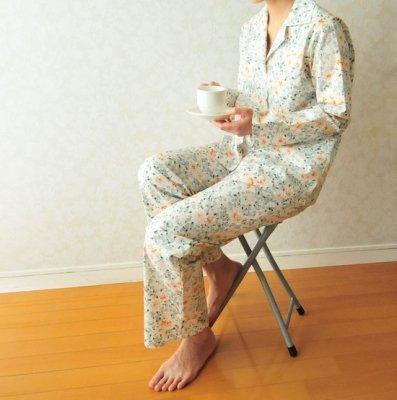 型紙「アナナのベーシックパジャマ」とプリント布430cmのセット