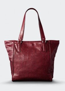 <img class='new_mark_img1' src='//img.shop-pro.jp/img/new/icons47.gif' style='border:none;display:inline;margin:0px;padding:0px;width:auto;' />【aniary】 Double Emboss Leather  tote bag / レッド