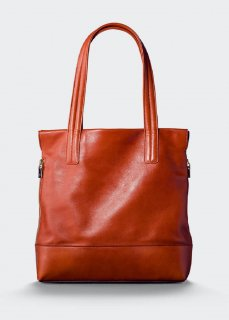 【aniary】 Antique Leather tote bag / レッドブラウン
