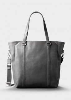 【aniary】 Grind Leather 3way tote bag / グレー
