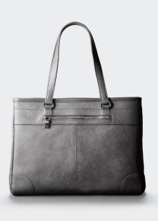 【aniary】 Grind Leather tote bag / グレー