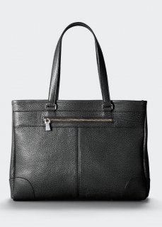 <img class='new_mark_img1' src='https://img.shop-pro.jp/img/new/icons47.gif' style='border:none;display:inline;margin:0px;padding:0px;width:auto;' />【aniary】 Grind Leather tote bag / ブラック