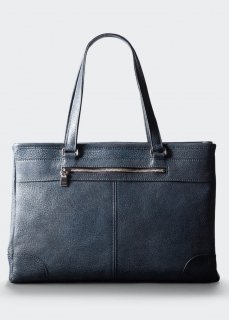 【aniary】 Grind Leather tote bag / ネイビー