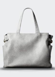 【aniary】 Grind Leather アジャスター付きトートバッグ / ホワイト