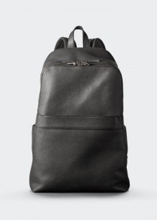 【aniary】 Grind Leather backpack / ブラック