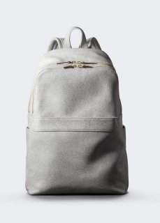 【aniary】 Grind Leather backpack / ホワイト