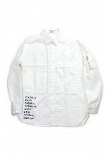 【Fenomeno-フェノメノ-】military shirts