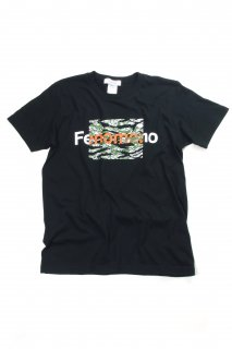 【Fenomeno-フェノメノ】 Tiger stripeTee BLK