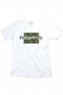 【Fenomeno-フェノメノ】 Tiger stripe Tee WHT