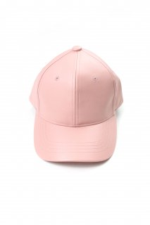 【Fenomeno -フェノメノ-】  imitation leather cap PNK