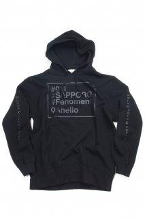 【Fenomeno-フェノメノ】  #SAPPORO hoodie BLK