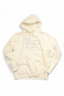 【Fenomeno-フェノメノ】  #SAPPORO hoodie ivory