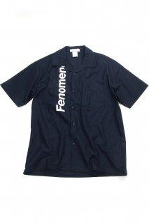 【Fenomeno-フェノメノ】  Open Collar Shirts NVY