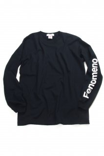 【Fenomeno-フェノメノ】  Long sleeve shirt BLK