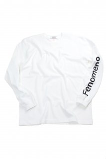 【Fenomeno-フェノメノ】  Long sleeve shirt WHT