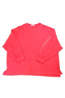 【Fenomeno-フェノメノ】  momonga long sleeve shirt RED