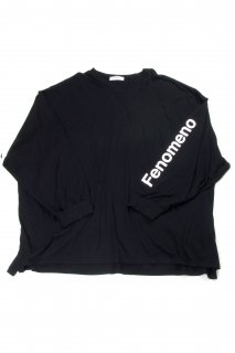 【Fenomeno-フェノメノ】  momonga long sleeve shirt BLK